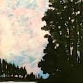 Sunset Sky by Wonju Hulse