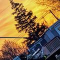 Sunset Streams by Jim Lepard