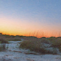 Sunset - Sullivan's Island Lighthouse by Dale Powell
