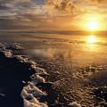 Sunset Umpqua Beach by Robert Potts