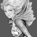 Supergirl by Bill Richards
