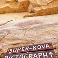 Supernova Pictograph by Britt Runyon