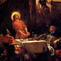Supper At Emmaus  by Eugene Delacroix