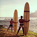 Surfboards Ready by Tom Kelley Archive
