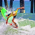 Surfer Yellow by Alice Gipson
