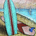 Surfing And Sailing by Karla Beatty