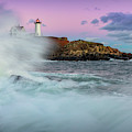 Surf's Up At Nubble by Colin Chase
