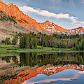 Surprise Valley Reflections 2 by Leland D Howard