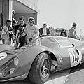 Surtees Tests Ferrari by Reg Lancaster