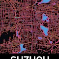 Suzhou City Map by Helge