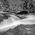 Sweetwater Creek Infrared Bw by Keith Smith