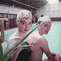 Swimming Hats by Charles Hewitt