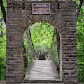 Swinging Bridge At Tishomingo State Park by Susan Rissi Tregoning