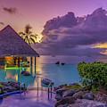 Tahitian Sunset by Scott McGuire