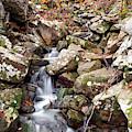 Talimena Drive Waterfall - Oklahoma Ouachita Mountains by Gregory Ballos