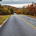 Talimena Scenic Drive Through Autumn Ouachita Mountain Landscapes by Gregory Ballos