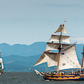 Tall Ships And The Wind by Robert Potts