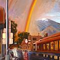 Taos Rainbow by Art West