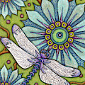 Tapestry Dragonfly by Amy E Fraser