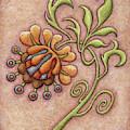 Tapestry Flower 10 by Amy E Fraser