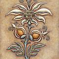 Tapestry Flower 9 by Amy E Fraser