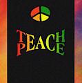 Teach Peace One by Jas Stem