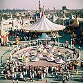 Teacups At Disneyland by Loomis Dean