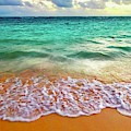 Teal Shore  by Cindy Greenstein