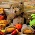 Teddy Bear And Toy Friends by Garry Gay