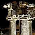 Temple Of Saturn - Capitals by Weston Westmoreland