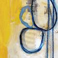 Tender Mercies Yellow- Abstract Art By Linda Woods by Linda Woods