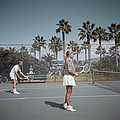 Tennis In San Diego by Slim Aarons