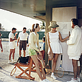 Tennis In The Bahamas by Slim Aarons