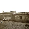 Teodoro Arrellanes Adobe, Santa Barbara  Circa 1880 by California Views Archives Mr Pat Hathaway Archives