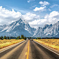 Grand Teton National Park Mountain Approach by Christopher Arndt