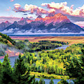 Grand Teton National Park Snake River by Christopher Arndt
