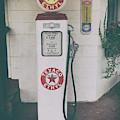 Texaco - Ethyl Gas Pump by Dale Powell