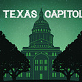 Texas Capitol by Weird Austin Photos