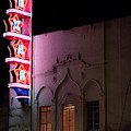 Texas Theater Marquee Dallas 072919 by Rospotte Photography