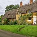 Thatched Cottages In Northamptonshire by Martyn Arnold