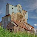 The Abandoned Grain Elevator by Kristen Wilkinson