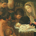 The Adoration Of The Shepherds, Detail by Guido Reni