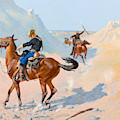 The Advance-guard, Or The Military Sacrifice by Frederic Remington