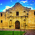 The Alamo Mission by Garry Gay