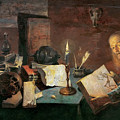 The Alchemist  by David Ryckaert III