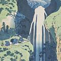 The Amida Falls  by Hokusai