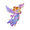 The Antique Angel Muse - Love Of Poetry by OLena Art - Lena Owens