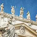 The Apostle Peter Vatican City by Joan Carroll