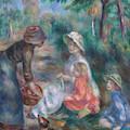 The Apple Seller, Circa 1890 by Pierre Auguste Renoir