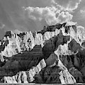 The Badlands In Black And White by Jim Thompson